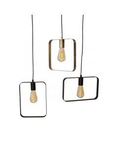 Hamilton 3 Lichts Hanglamp