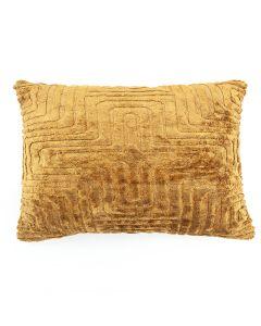 Pillow Madam 35x55 cm - yellow