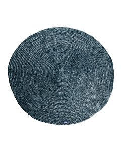 Carpet Jute round 120x120 cm - grey