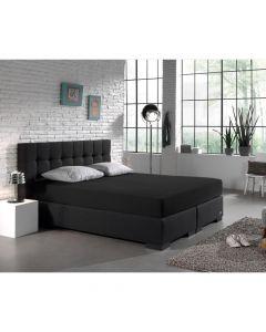 Homecare - Jersey - Zwart - 80/90/100 x 200/220
