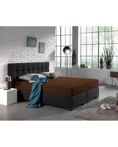 Homecare - Jersey - Bruin - 140 x 200/220