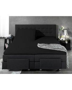 Homecare - Jersey - Zwart - 160 x 200