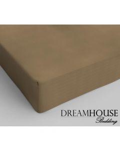Dreamhouse - Katoen - Taupe - 90 x 220