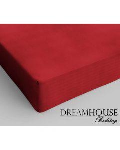 Dreamhouse - Katoen - Rood - 80 x 200