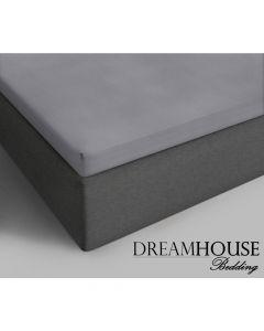 Dreamhouse - Katoen - Grijs - 90 x 220