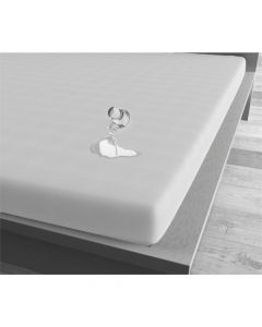 Homecare - Jersey - Wit - 90 x 220
