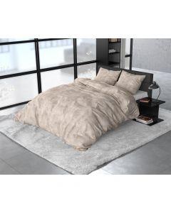 Sleeptime - Flanel - Taupe - 140 x 220