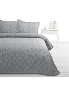 Fancy Embroidery - 30% Katoen / 30% Polyester / 40% Polypropyleen - Grijs - 180 x 270