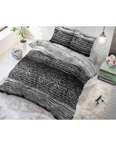 Sleeptime - Katoen Blended - Antraciet - 140 x 220
