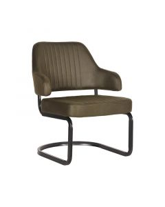 LABEL51 - Fauteuil Otta - Microvezel - Army