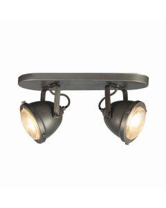 LABEL51 - Led Spot Moto 2-Lichts - Burned Steel
