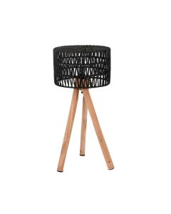 LABEL51 - Tafellamp Stripe - Zwart - 32 cm