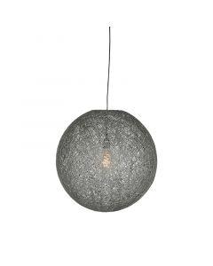 LABEL51 Hanglamp Twist - Grijs - Vlas - M
