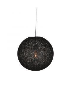 LABEL51 - Hanglamp Twist - Zwart - Bol - 30 cm