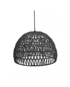LABEL51 - Hanglamp Rope - Zwart - 50 cm - L