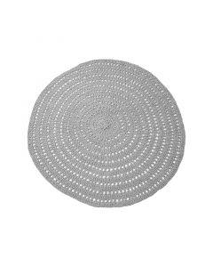 LABEL51 - Vloerkleed Knitted - Grijs - 150 cm